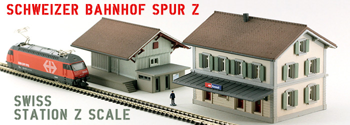 Swiss Station Z Scale
